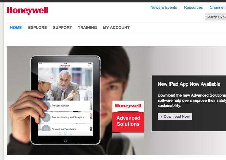 Honeywell MEI Portico App
