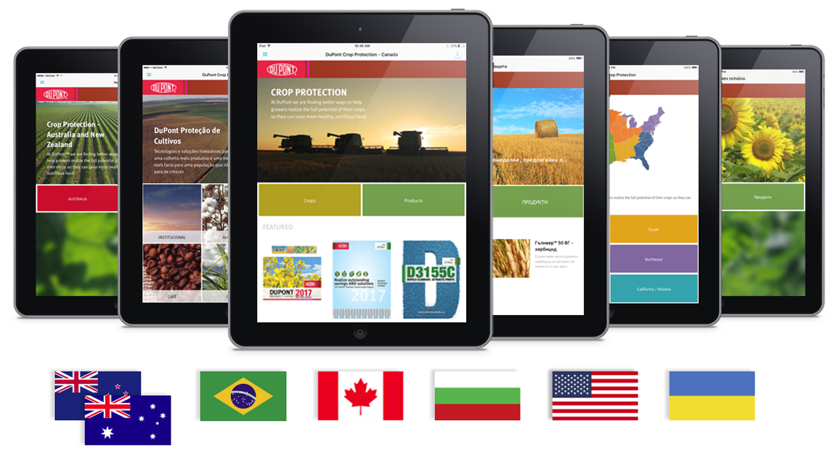 DuPont partners with MEI to Create Crop Protection Sales Enablement Mobile Apps