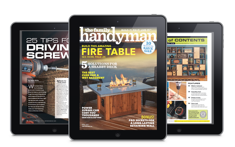 Family Handyman Magazine on Twixl Publisher