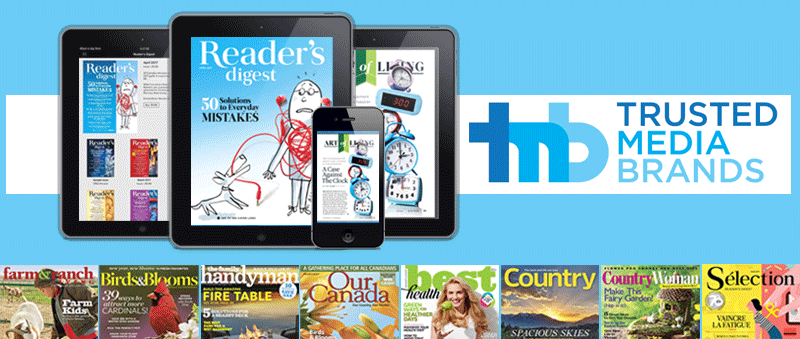 TMBI uses Twixl Publisher and MEI to deliver digital issues of Reader's Digest and 11 other popular titles